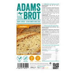 Eiwitrijk brood | Adam's Bread | Broodmix wit | White 3.0 | Dieetwebshop.nl