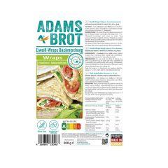 Adams Brot | Wraps | Koolhydraatarme wraps