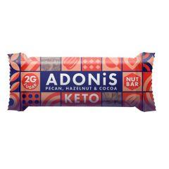 Adonis | Low Sugar Nut Bar | Pecan Hazelnut Cocoa | Low Carb | Dieetwebshop.nl