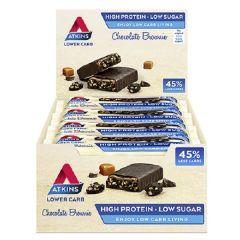 Proteïnerijke Atkins reep | Chocolate Brownie | Doos | Dieetwebshop.nl