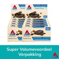 Atkins | Chocolate Brownie | voordeeldoos | low carb | Dieetwebshop.nl