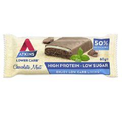 Atkins | Chocolate Mint Bar | Ketogeen | Proteïnerijk | Dieetwebshop.nl