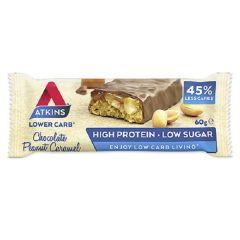 Atkins | Chocolate Peanut Caramel | Keto Reep | Dieetwebshop.nl