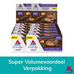 Atkins | Endulge | Caramel Nougat | Keto Bar | Dieetwebshop.nl