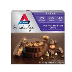 Atkins | Endulge | Chocolade Peanutbutter Cups | Doos | Keto koek | Dieetwebshop.nl