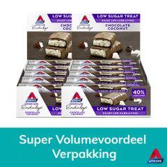 Atkins | Endulge | Chocolate Coconut Bar | Voordeeldoos | Low Carb | Dieetwebshop.nl