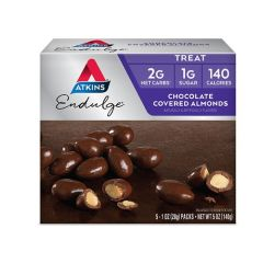 Atkins Keto Reep | Endulge | Chocolate Covered Almond | Doos | Dieetwebshop.nl