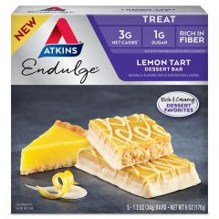 Atkins | Lemon Tart Dessert Bar | Low Carb | Dieetwebshop.nl