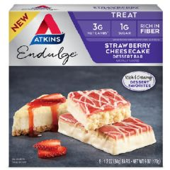 Atkins | Strawberry Cheesecake Dessert Bar | Low Carb | Dieetwebshop.nl