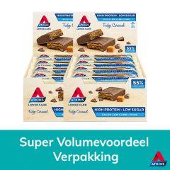 Atkins Keto Reep | Fudge Caramel | Voordeeldoos | Dieetwebshop.nl
