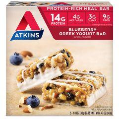 Atkins | Greek Yoghurt Blueberry Bar | Doos | Keto Reep | Dieetwebshop.nl