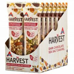 Atkins Keto Bar | Harvest | Dark Chocolate Sea Salt Caramel | Doos | Dieetwebshop.nl