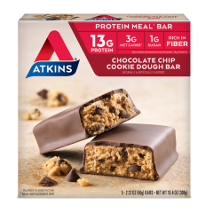 Atkins | Meal Bar | Chocolate Chip Cookie Dough Bar | Keto  | Dieetwebshop.nl