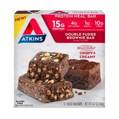 Atkins | Protein Meal Bar | Double Fudge Brownie | Vezelrijk