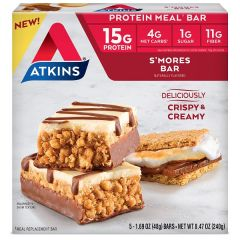 Low Carb Maaltijdreep | Atkins | Meal Bar | S'mores | Dieetwebshop.nl