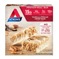 Atkins | Meal Bar | Vanilla Pecan Crisp