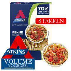 Eiwitrijk | Atkins | Pasta Penne | Doos | Dieetwebshop.nl