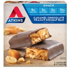 Atkins USA | Caramel Chocolate Peanut Nougat Bar | Low Carb | Dieetwebshop.nl
