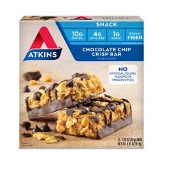 Atkins | Snack Bar | Chocolate Chip Crisp | Doos | Low Carb