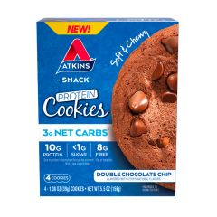Atkins | Protein Cookies | Double Chocolate Chip | Koolhydraatarm