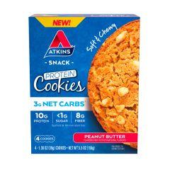 Atkins | Protein Cookies | Peanut Butter | Koolhydraatarm