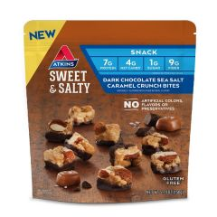 Atkins | Sweet & Salty Crunch Bites | Dark Chocolate | Caloriearme snack | Dieetwebshop.nl