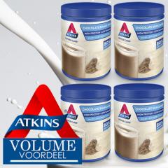 Atkins | Shakemix | Chocolade | Doos | Caloriearm | Eiwitrijk | Dieetwebshop.nl