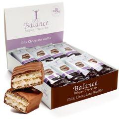 Caloriearm | Balance | Chocolate Wafer | Dieetwebshop.nl