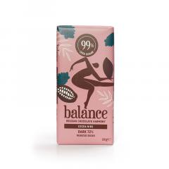 Balance | Tablet Puur 72% | Cacaonibs | Low Carb | Dieetwebshop.nl