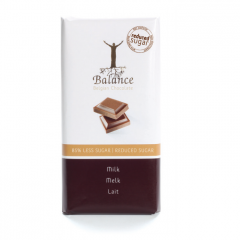 Keto Snack | Balance | Tablet | Melkchocolade | Dieetwebshop.nl