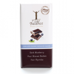Balance | Tablet Puur Bosbes | Keto Chocolade | Dieetwebshop.nl