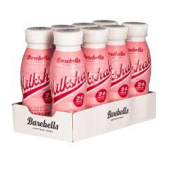 Eiwitrijke drank | Barebells | Proteine Milkshake | Aardbei | Tray | Dieetwebshop.nl
