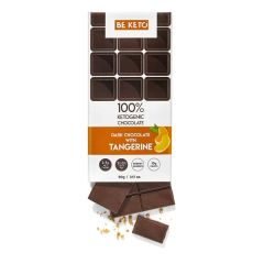 Be keto | KETO Chocolate + MCT | Tangerine | Koolhydraatarm dieet
