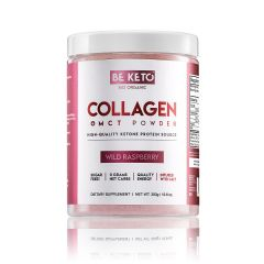 Be Keto | KETO Collageen + MCT | Wild Raspberry | Low Carb leefwijze