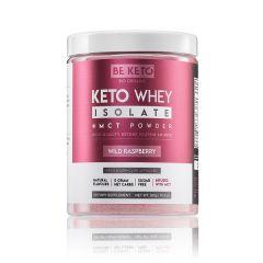 Be Keto | KETO Whey + MCT | Wild Raspberry | 300 gram | Eiwitrijke shake
