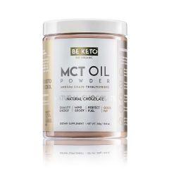 Be Keto | MCT Oil Powder | Natural Chocolate | Koolhydraatarm