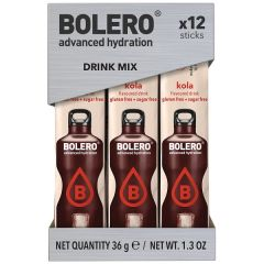 Bolero | Limonade | Cola | Sticks | Caloriearm