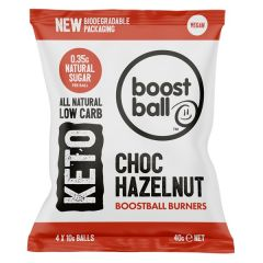 BoostBall | Keto Burners | Chocolate Hazelnut | Koolhydraatarm