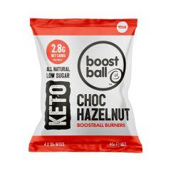 BoostBall | Keto Burners | Chocolate Hazelnut | Koolhydraatarm