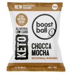 BoostBall | Keto Burners | Chocca Mocha