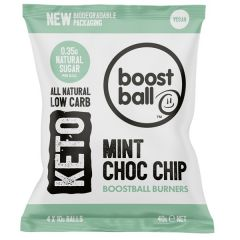 BoostBall | Keto Burners | Mint Choc Chip | Caloriearm