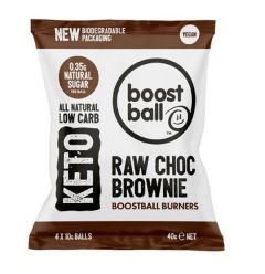 BoostBall | Keto Burners | Raw Chocolate Brownie