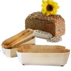Caloriearm brood | Broodbakvorm | inclusief papieren inleg | Dieetwebshop.nl