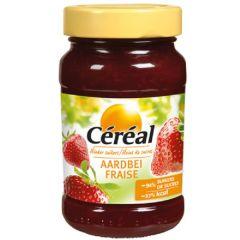 Suikervrije Jam | Céréal | Broodbeleg | Aardbei | Dieetwebshop.nl