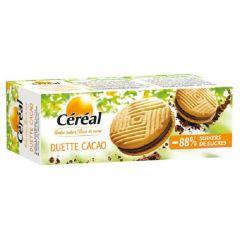 Caloriearme Koekjes | Céréal | Duette Cacao Koekjes | Dieetwebshop.nl