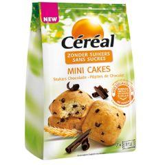 Caloriearm | Céréal | Mini Cake | Stukjes Chocolade | Dieetwebshop.nl