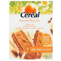 Caloriearme Koekjes | Céréal | Speculaas | Stukjes Amandelen | Dieetwebshop.nl