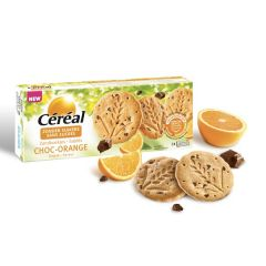 Céréal | Zandkoekjes | Choc-Orange | Suikervrij