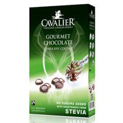 Cavalier | Chocolade drops | Gourmet chocolate | Caloriearm | Dieetwebshop.nl
