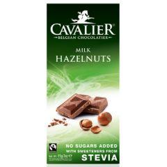 Cavalier | Chocolade Tablet | Hazelnoot Melk